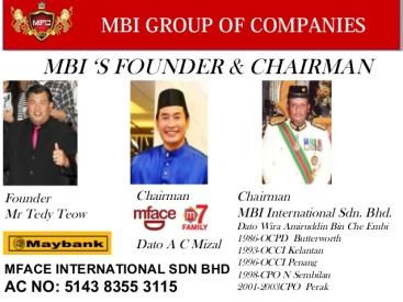 mface Chairman