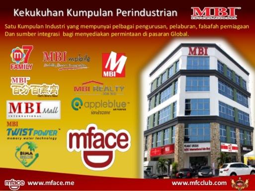 senarai anak syarikat mface